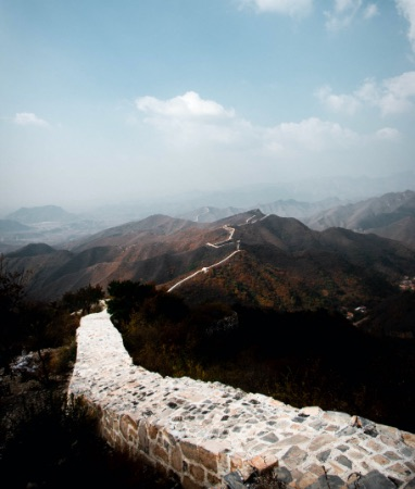 he Great Wall of China